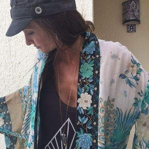 Spell and the Gypsy Coll Cloud Dancer Kimono Short